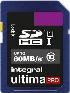 Ultima Pro SDHC 16Go (80MB/s) SDHC / Secure Digital High Capacity 16 Go Classe 10 80MB/s