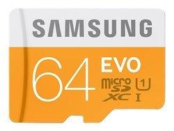 EVO Micro SDXC 64Go Classe 10Classe 10 64 Go microSDXC