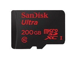 Ultra MicroSDXC 200GoClasse 10 microSDXC 200Go