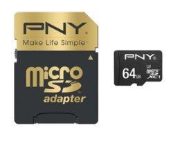 Elite Performance MicroSDXC 64Go (100Mo/s)64 Go microSDXC 100MB/s