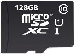 MicroSDXC UHS-I  Classe10 128Go (INMSDX128G10-80SPTAB)Classe 10 80MB/s microSDXC 128 Go