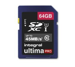 UltimaPro SDXC 64Go 45MB/s - Black Classe 10 SDXC 64 Go