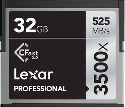 Professional CFast 2.0 3500x 32GoCompact Flash 32 Go 525MB/s