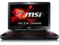 GT80S 6QD-025FR1 To 8 Cellules 1920 x 1080 Intel Core i7 Intel Core i7 6820HK NVIDIA GeForce GTX 970M 18 pouces 16 Go 256 Go 4,50 kg