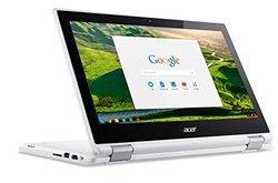 Chromebook CB5-132TQuad-core (4 Core) 4 Go 1366 x 768 Intel HD Graphics 11 pouces 32 Go Chromebook 1,40 kg Intel Celeron N3150