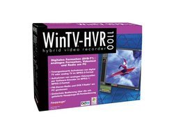 WinTV-HVR-1100PCI Avec Tuner TV 1 x S-Video Coaxial (antenne TV)