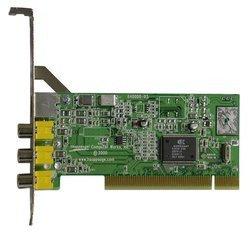 Impact-VCBPCI Avec Tuner TV 1 x Composite RCA 1 x S-Video MPEG 1/2 Coaxial (antenne TV) DivX