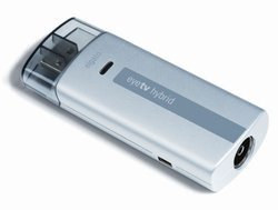 EyeTV HybridUSB Avec Tuner TV 1 x S-Video Coaxial (antenne TV)