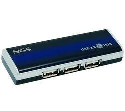 SLIMHUB4 - Hub 4 ports USB 2.0en USB 2.0 4 ports USB 2.0