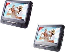 VRT179portable Port USB CD DVD+RW MPEG4 JPEG, MP3 DVD Lecteur cartes mémoire 9 pouces