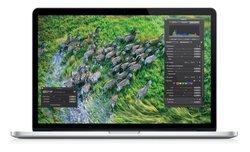 """MacBook Pro 13"""" Retina 2.3GHz 256Go ME662F/A (2013)8 Go 256 Go 13,3 pouces Core i5 MacBook Pro Core i5 2,6Ghz Intel Intégré 1,62 Kg"""