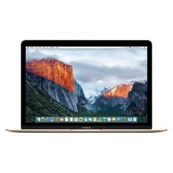 """MacBook 12"""" Retina 1.1GHz 256Go MMGL2FN/A12 pouces 8 Go 256 Go Intel HD Graphics 515 Core M MacBook Core M 1,1Ghz 0,92 Kg"""
