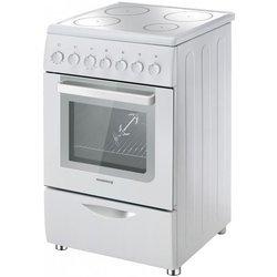 Cuisini re rosieres rvc 5318 rb blanc pas cher prix clubic - Table vitroceramique blanche ...