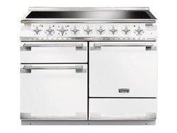 ELS 110 EIWHEU5 foyers avec four électrique chaleur tournante multifonction blanche vitrocéramique avec tiroir de rangement induction grande largeur avec fonction décongélation 69 + 69 + 21 litres