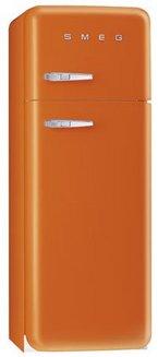 FAB 30 O / OS (orange)pose libre Classe  A congélateur en haut 64 litres froid brassé 2 portes Classe A++ 68 litres 38 dB 229 litres orange 242 litres 293 litres