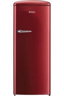 ORB 153 R1 porte pose libre 2 kg / 24 h de 201 à 300 litres Classe SN-T froid brassé 40 dB rouge 229 litres Classe A+++ 25 litres 254 litres