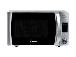 CMXG 22 DSde 20 à 29 litres micro-ondes + grill à commande électronique inox avec plateau tournant 800 Watts 22 litres avec sécurité enfant avec fonction pizza avec fonction décongélation peinte 1000 Watts 5 niveaux de puissance 24,5 cm