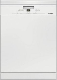 G 4922 Extra Clean blanc encastrable Classe A Classe A avec départ différé avec affichage du temps restant 10 litres 44 dB 13 couverts Classe A++ avec raccord eau chaude avec pieds réglables 262 kWh/an avec panier réglable écran LCD 59,8 cm