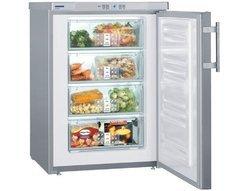 GPESF 1476inox armoire pose libre 4 tiroirs 104 litres de 101 à 150 Litres Classe A++ 11 kg / 24 h