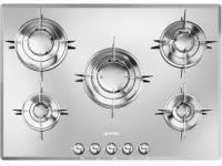 PTV 705 ES miroir gaz 5 foyers verre avec sécurité thermocouple 7900 Watts autre 72 cm Inox