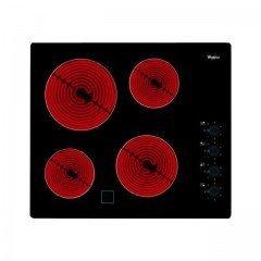 AKM 9010 NEnoir 4 foyers vitrocéramique avec témoin de chaleur résiduelle 60 cm 6200 Watts