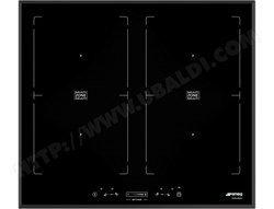 SIM 562 B  noir 4 foyers induction avec allumage électronique verre céramique 4 induction