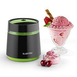 Bacio Nero noir 30 minutes 0,8 litre Machine à glace silencieux avec couvercle amovible avec nettoyage facile
