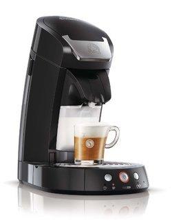 Senseo Cappuccino HD 7853/61 noir sans broyeur à café 1,2 litres 2 tasses à dosette 1,5 Bars Senseo