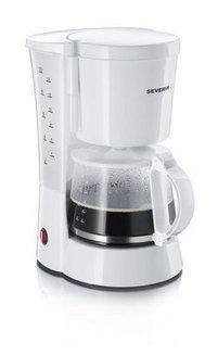 4488blanc filtre 10 tasses café moulu 800 Watts avec niveau d'eau visible avec système anti-goutte