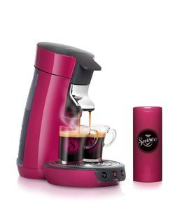 cafeti re philips senseo viva caf hd 7825 49 rose pas. Black Bedroom Furniture Sets. Home Design Ideas