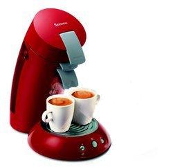 Senseo HD 7810/91 rouge sans broyeur à café à dosette 6 tasses 0,75 litres 1450 Watts 1,5 Bars Senseo