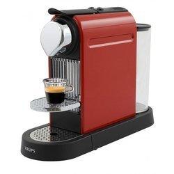 cafeti re krups nespresso citiz rouge flamme yy 1471 fd. Black Bedroom Furniture Sets. Home Design Ideas