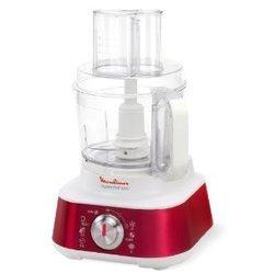 Masterchef 8000 FP 659 GB1blanc et rouge pétrin presse-agrumes 2 vitesses centrifugeuse rapeur éminceur fouet 1000 Watts 3 litres 1,5 litres