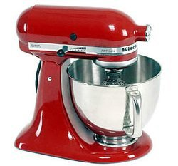 robot multifonction kitchenaid rouge 5ksm150pseer pas cher prix clubic. Black Bedroom Furniture Sets. Home Design Ideas