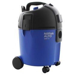 Aero 25 21bleu cuve eau et poussière 1400 Watts 67 dB silencieux 60 dm³/s 19 kPa 25 litres