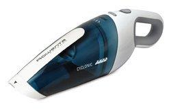 Cleanette Extenso AC 446101bleu et blanc à main sans sac 4,8 Volts 11 minutes 0,375 litre