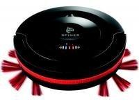Spider M 607noir et rouge rechargeable robot autonome 0,30 litre 1600 Watts 60 minutes avec détecteur vide avec ou sans sac 50 dB 17 Watts 0,27 litre