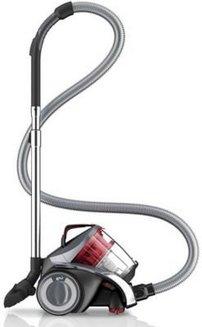 Infinity Rebel 54 HF DD 5254-3 sans sac traineau avec tube métal télescopique 78 dB 800 Watts avec brosse parquet filtre permanent avec poignée de transport Classe A 1,8 litres avec technologie cyclonique