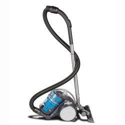 Turbo Eco-Pets  bleu sans sac 70 dB traineau avec variateur de puissance 22 kPa filtre HEPA 13 avec position parking 900 Watts avec poignée de transport Classe A Brosse combinée sols durs/moquette. 1,2 litre
