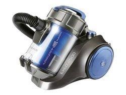 EXEO 2500sans sac traineau filtre HEPA avec variateur de puissance 82 dB 3,5 litres avec enrouleur de câble automatique avec tube télescopique Classe A 700 Watts avec commande électronique