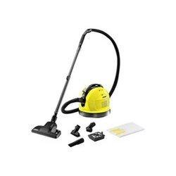 VC 6 jaune avec sac 600 Watts filtre HEPA 12 avec enrouleur de câble automatique avec tube télescopique 41 dm³/s poussière avec commande électronique 32,7 kPa
