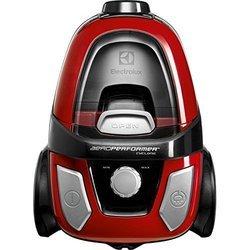 Z 9920 EL noir et rouge sans sac traineau avec tube métal 78 dB avec tube télescopique 800 Watts avec position parking Classe A avec brosse sol dur 1,1 litre