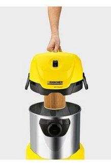 WD 3 Premiumeau et poussière 17 litres 1000 Watts avec position parking avec fonction soufflerie