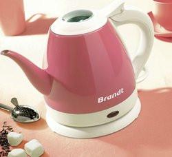 Bouilloire électrique Brandt Brandt Brandt Bo 801 R (Rose) pas cher ...