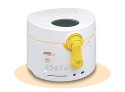 Simply invents FF 10251,2 kg 1800 Watts permanente plastique avec parois froides avec thermostat réglable ronde 2,2 litres Blanc et Jaune