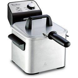 AM 32207inox amovible avec thermostat réglable carrée 2 litres semi-professionnelle avec éléments amovibles compatibles au lave-vaisselle avec couvercle amovible 0,5 kg avec poignées de transport Avec voyant lumineux