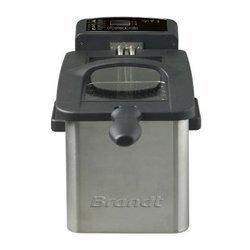FRI 2102 Einox amovible 2000 Watts avec thermostat réglable avec zone froide 3 litres semi-professionnelle 1,5 kg