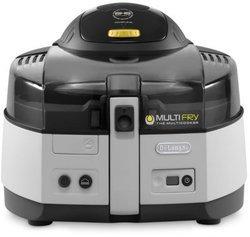 Multifry Classic FH 1163 noir gris amovible avec thermostat réglable 1,5 kg 1400 Watts avec éléments amovibles compatibles au lave-vaisselle avec pieds antidérapants Classique avec ouverture automatique