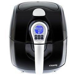 FRY 700 sans huile avec minuteur avec arrêt automatique 0,8 kg avec écran digital LCD avec température réglable 1650 Watts