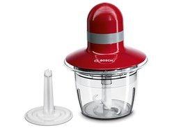 MMR 08 R 2rouge gris 0,8 Litre compatible au lave-vaisselle 400 Watts avec range-cordon hachoir